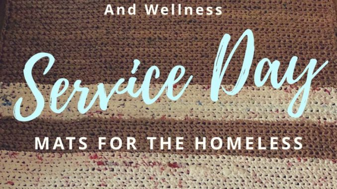 mats for the homeless, homeless, volunteer